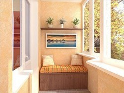 Внутренняя отделка балконов и лоджий в Пензе